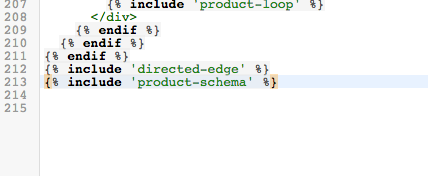 pasted product schema code example